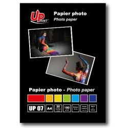 Papier photo brillant 180g format A4